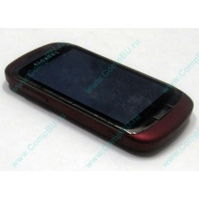 Красно-розовый телефон Alcatel One Touch 818 (Монино)