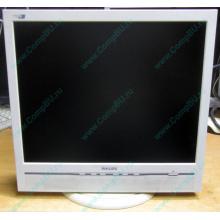 """Б/У монитор 17"""" Philips 170B с колонками и USB-хабом в Монино, белый (Монино)"""