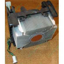 Кулер для процессоров socket 478 с медным сердечником внутри алюминиевого радиатора Б/У (Монино)
