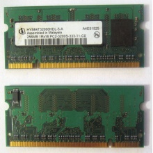 Модуль памяти для ноутбуков 256MB DDR2 SODIMM PC3200 (Монино)